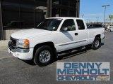 2005 Summit White GMC Sierra 1500 SLE Extended Cab 4x4 #54630912