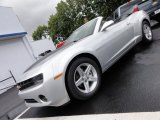 2012 Silver Ice Metallic Chevrolet Camaro LT Convertible #54630649