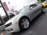 2012 Silver Ice Metallic Chevrolet Camaro LT Coupe #54630642