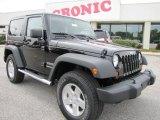 2012 Black Jeep Wrangler Sport S 4x4 #54630618