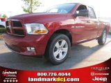 2012 Deep Cherry Red Crystal Pearl Dodge Ram 1500 Express Quad Cab #54683836