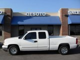 2006 Summit White Chevrolet Silverado 1500 LS Extended Cab #5440119