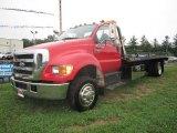 2007 Red Ford F650 Super Duty XLT Regular Cab Pro Loader Truck #54684376