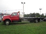2007 Ford F650 Super Duty Red