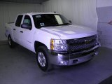 2012 Summit White Chevrolet Silverado 1500 LT Crew Cab 4x4 #54684094