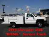 2004 Chevrolet Silverado 3500HD Work Truck Regular Cab Chassis Data, Info and Specs