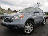 2008 Glacier Blue Metallic Honda CR-V EX-L 4WD #54683741