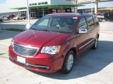 2012 Chrysler Town & Country Deep Cherry Red Crystal Pearl