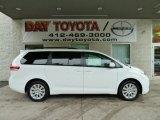 2012 Super White Toyota Sienna LE AWD #54683688