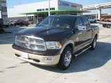 2011 Rugged Brown Pearl Dodge Ram 1500 Laramie Longhorn Crew Cab #54684010