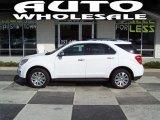 2010 Summit White Chevrolet Equinox LTZ #54683993
