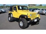 2006 Jeep Wrangler Solar Yellow