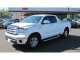 2010 Super White Toyota Tundra Double Cab #54683969