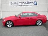 2008 Crimson Red BMW 3 Series 335i Convertible #54683944