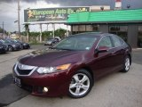 2010 Basque Red Pearl Acura TSX Sedan #54683895