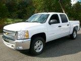 2012 Summit White Chevrolet Silverado 1500 LT Crew Cab 4x4 #54684179