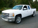 2012 Summit White Chevrolet Silverado 1500 LT Extended Cab #54684178
