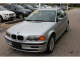 2001 Titanium Silver Metallic BMW 3 Series 325xi Sedan #54683864