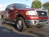 2006 Dark Toreador Red Metallic Ford F150 XLT SuperCrew 4x4 #54739017