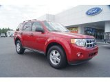 2009 Sangria Red Metallic Ford Escape XLT V6 #54738454