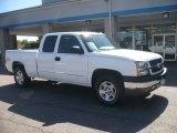 2004 Summit White Chevrolet Silverado 1500 LS Extended Cab 4x4 #54738433