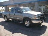 2007 Graystone Metallic Chevrolet Silverado 1500 Classic LT Extended Cab 4x4 #54738431