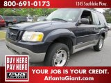 2001 Deep Wedgewood Blue Metallic Ford Explorer Sport #54738971