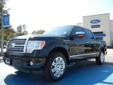 2010 Tuxedo Black Ford F150 Platinum SuperCrew #54738415