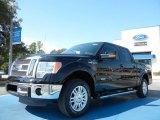2011 Ebony Black Ford F150 Lariat SuperCrew #54738395