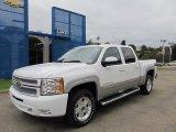 2012 Summit White Chevrolet Silverado 1500 LT Crew Cab 4x4 #54738388
