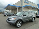 2011 Polished Metal Metallic Honda CR-V EX 4WD #54738924