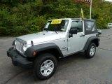 2011 Bright Silver Metallic Jeep Wrangler Sport 4x4 #54738682