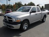 2012 Bright Silver Metallic Dodge Ram 1500 ST Quad Cab #54738914