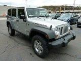 2012 Jeep Wrangler Unlimited Bright Silver Metallic