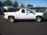 2012 Summit White Chevrolet Silverado 1500 LT Extended Cab 4x4 #54738884
