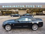 2011 Ebony Black Ford Mustang V6 Premium Convertible #54738639