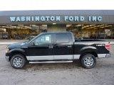 2011 Ebony Black Ford F150 XLT SuperCrew 4x4 #54738636