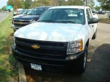2012 Summit White Chevrolet Silverado 1500 Work Truck Extended Cab 4x4 #54738279