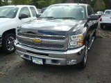 2012 Black Chevrolet Silverado 1500 LT Extended Cab 4x4 #54738276