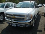 2012 Summit White Chevrolet Silverado 1500 LT Extended Cab 4x4 #54738274