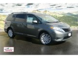 2012 Cypress Green Pearl Toyota Sienna LE AWD #54738265