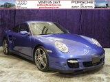 2007 Cobalt Blue Metallic Porsche 911 Turbo Coupe #54738599