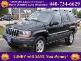 2002 Black Jeep Grand Cherokee Sport 4x4 #54738105