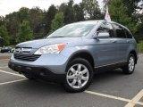 2009 Glacier Blue Metallic Honda CR-V EX-L 4WD #54738822