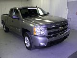 2008 Graystone Metallic Chevrolet Silverado 1500 LT Extended Cab #54738795