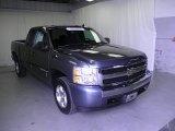 2008 Blue Granite Metallic Chevrolet Silverado 1500 LT Extended Cab #54738793