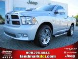 2010 Bright Silver Metallic Dodge Ram 1500 R/T Regular Cab #54791761