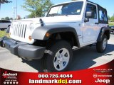 2012 Bright White Jeep Wrangler Sport 4x4 #54791755