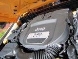 2012 Jeep Wrangler Sport 4x4 3.6 Liter DOHC 24-Valve VVT Pentastar V6 Engine