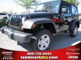 2012 Black Jeep Wrangler Sport 4x4 #54791752